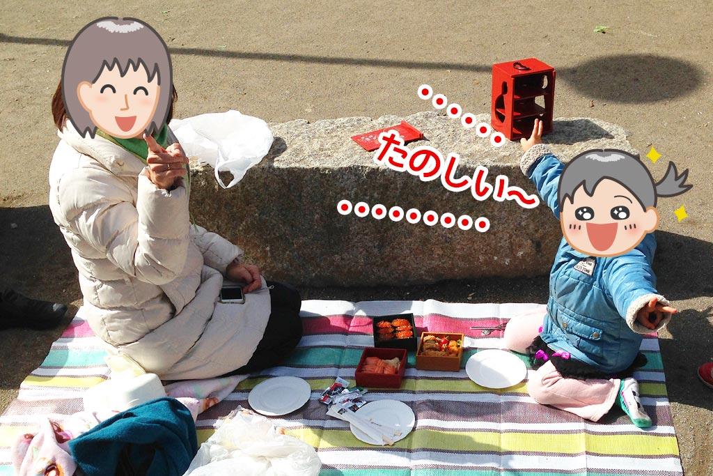 ピクニックと遊山箱