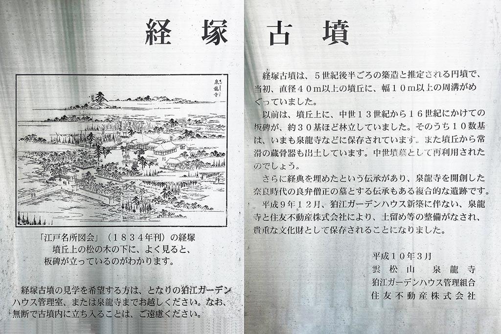 経塚古墳説明