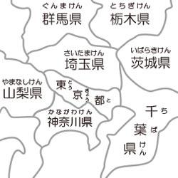 都道府県地図